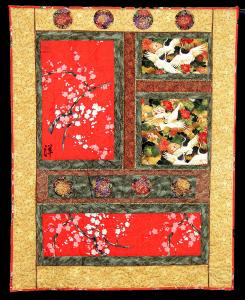 Custom Asian Feng Shui Quilt for CFO