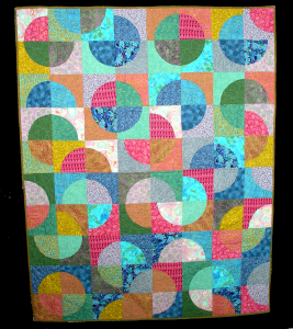 Custom Quarter Arc Lap Quilt