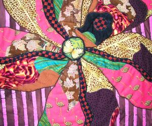 Flamingo Orchid Center Detail