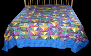 Indian Corn King Quilt/Bedspread