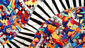 Jazz Piano Piecing Detail