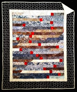 1st in a series of 4 Lap Quilts sold through Gallerie Quilts in Evergreen, CO