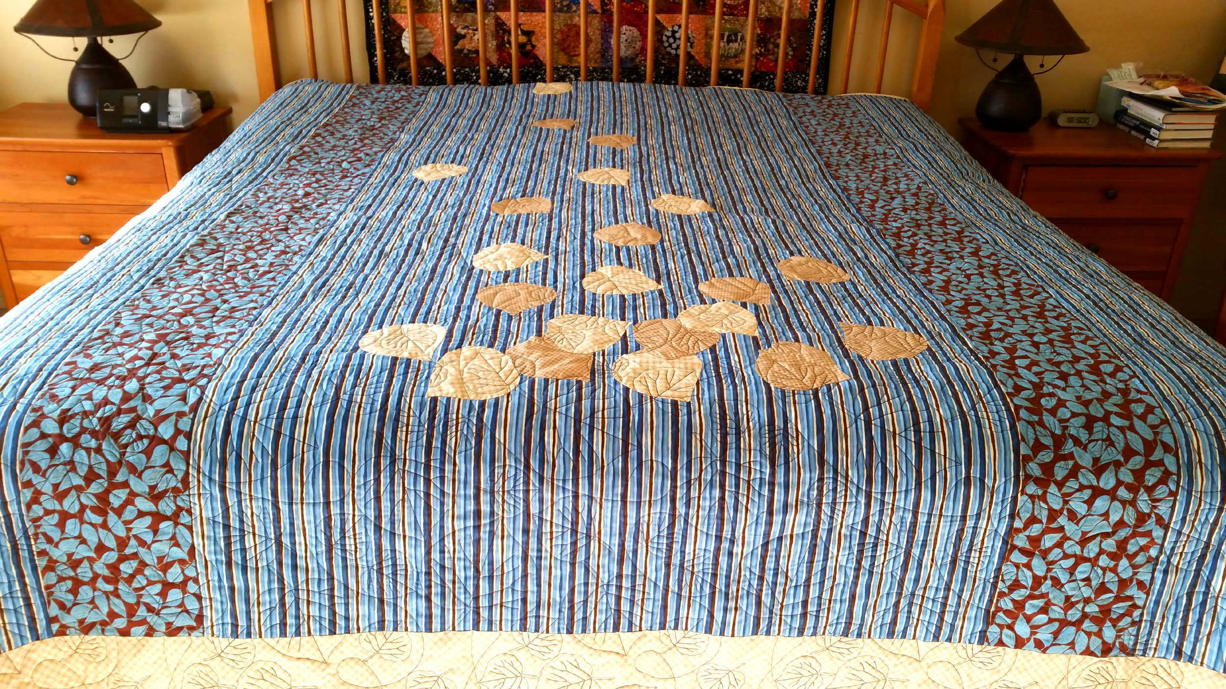 maple bed htm star quilts