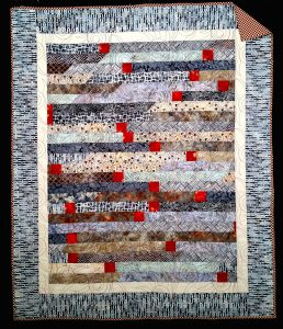 4th in series of Lap Quilts.